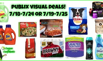 Publix Best Deals 7/18-7/24 or 7/19-7/25 (EASY Visual Deals!)