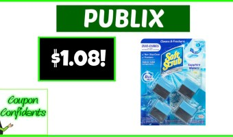 $1.08 Soft Scrub Toilet Care at Publix!