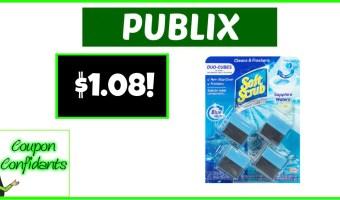 $1.08 Soft Scrub Toilet Care at Publix!
