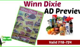 Winn Dixie AD Preview July 18 – 24