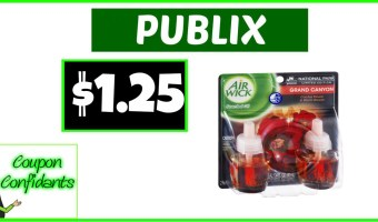 Air Wick Scented Oil Refills $1.25 – Publix Deal!