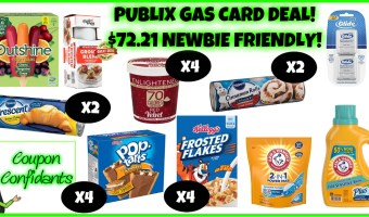 Publix Gas Card Deal ANYONE can do!