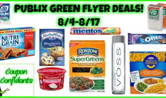 Publix Green Flyer Deals Aug 4 – Aug 17