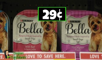 Ongoing Deal! 29¢ Bella Dog Food at Publix!