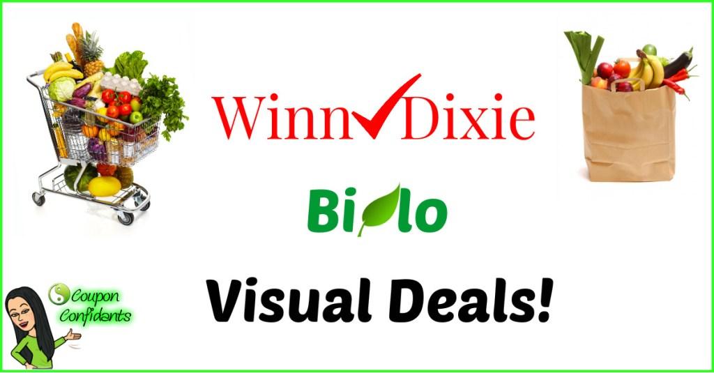 Bi-lo & Winn Dixie Visual Match ups! 8/22-8/28