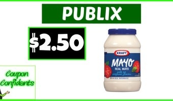Kraft Mayo $2.50 at Publix!