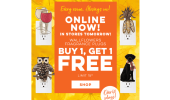 Wallflowers Plugs BOGO at Bath and Body Works!