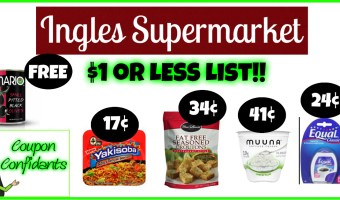 Ingles Supermarkets – $1 or Less Deals!