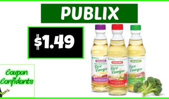 Nakano Rice Vinegar at Publix!