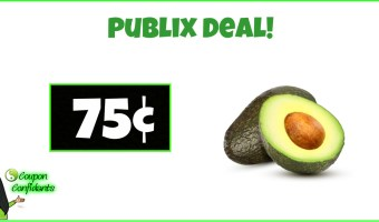 Avocados NEW Coupon matching current sale at Publix!