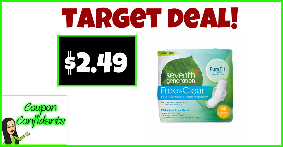 image regarding Seventh Generation Printable Coupon named $2.49 every for 7th Output Pads at Concentration! ⋆ Coupon