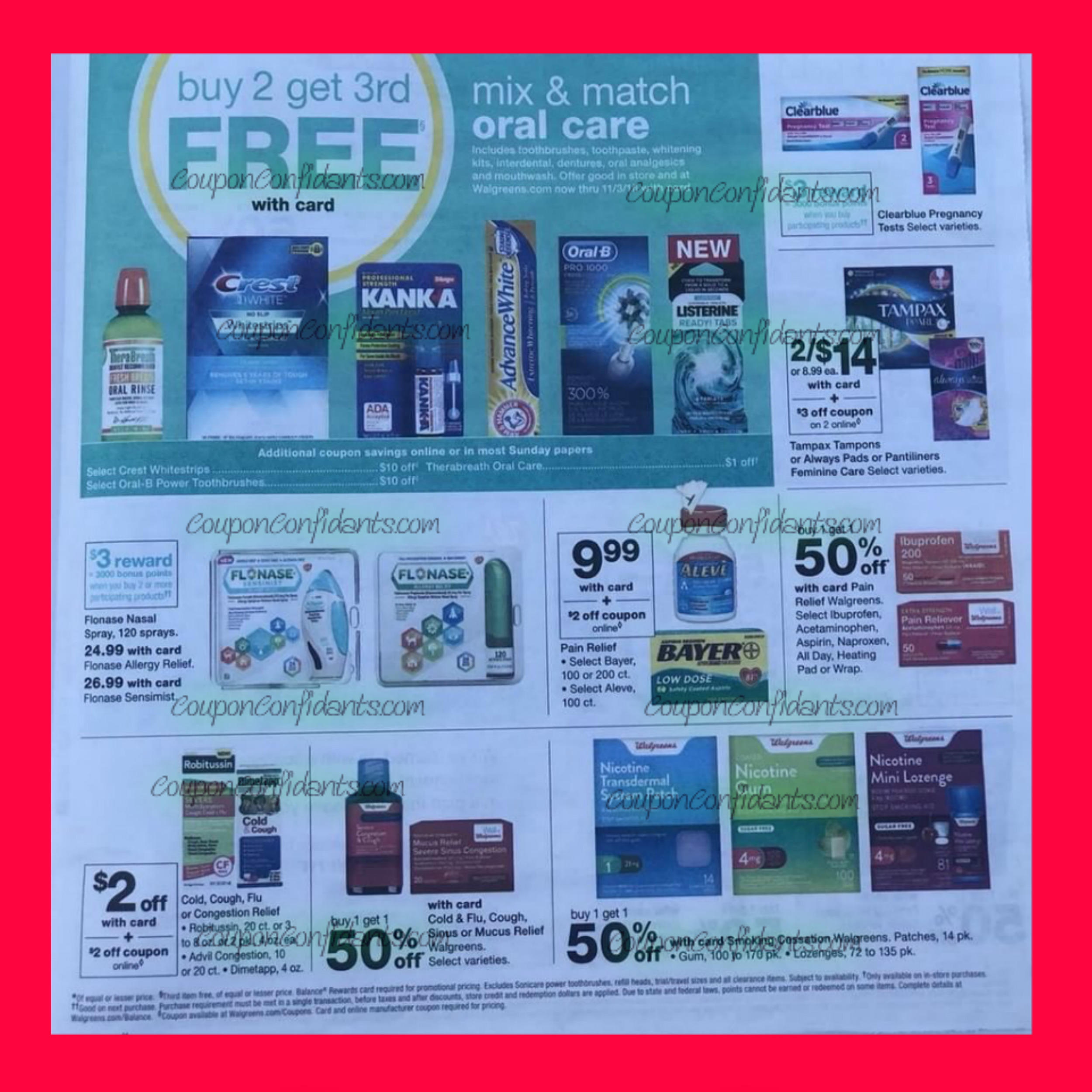 Walgreens Ad Preview October 14 - 20 ⋆ Coupon Confidants