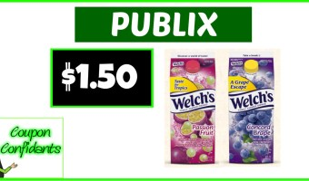 Welch's Juice only $1.50 at Publix!