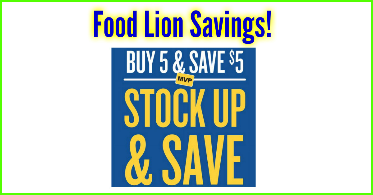 image relating to Food Lion Printable Coupons named Foodstuff Lion Purchase 5 Help you save 5! No coupon codes demanded! ⋆ Coupon Confidants
