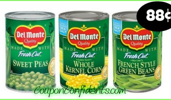 Del Monte Vegetables only $0.88 at Publix!