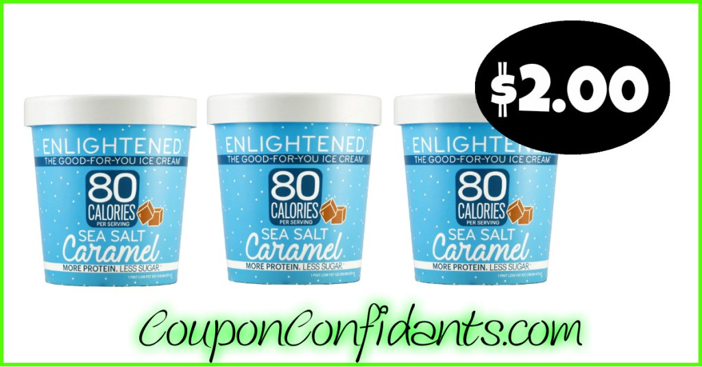 Enlightened Ice Cream $2 at Winn Dixie and Bilo! YUM!