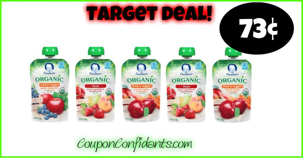 Gerber Pouches – Upcoming Deal for Target!