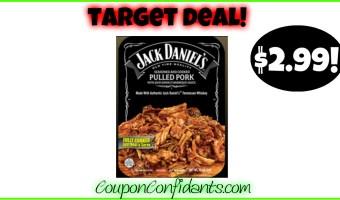 Jack Daniel's Pulled Pork deal at Target!