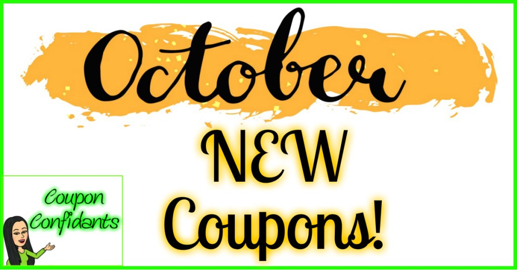 NEW Month and tons of NEW Coupons!! Check them all out here!