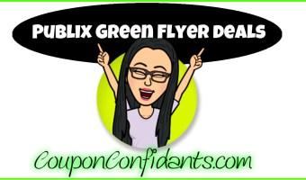 Publix Green Flyer Deals Oct 27 – Nov 9