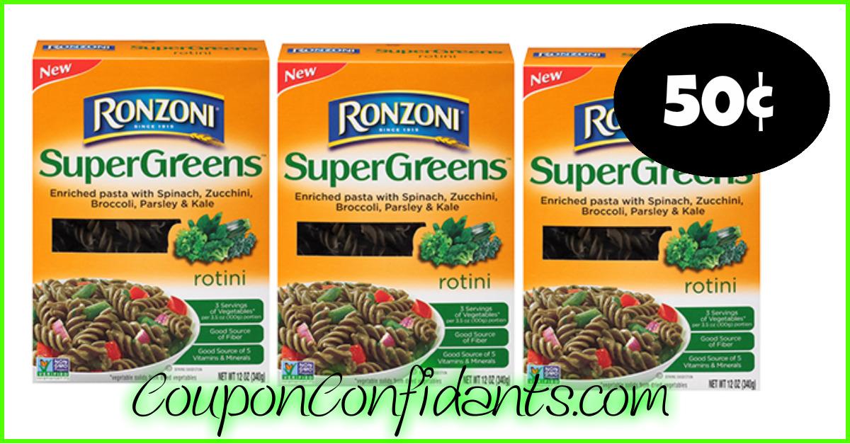 Ronzoni Pasta only 50¢ at Publix! ⋆ Coupon Confidants