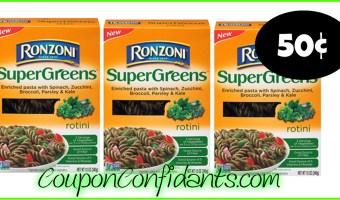 Ronzoni Pasta only 50¢ at Publix!