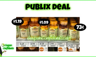 Sundown Vitamins at Publix!