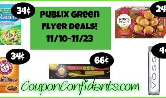 Publix Green Flyer Deals 11/10 – 11/23