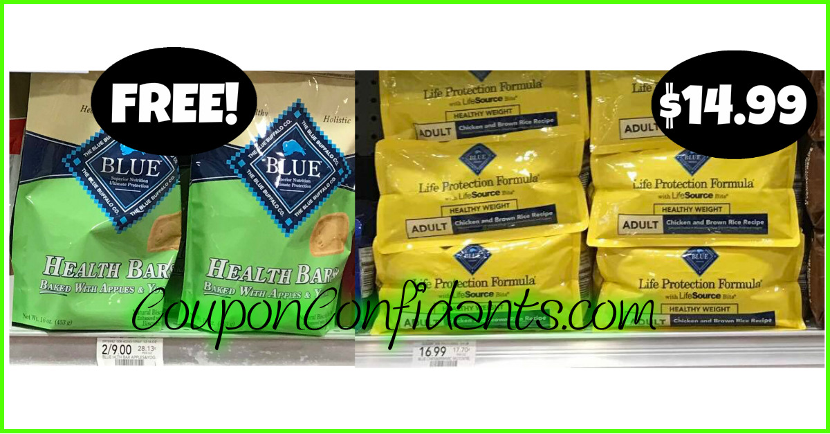 photograph regarding Blue Buffalo Dog Food Coupons Printable named Blue Buffalo Canine Bundle at Publix! Superb Worth! ⋆ Coupon