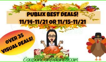 Publix BEST Deals! HUGE list!! 11/14 – 11/21 or 11/15 – 11/21