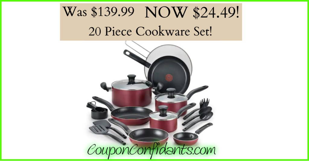 Cookware Set normally $149 now just $24.49!!