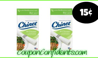 15¢ Chinet Napkins at Winn Dixie and Bilo!