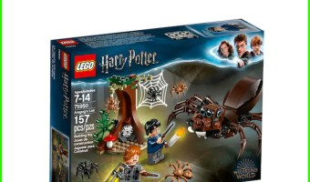 Harry Potter Aragog's Lair Lego Set only $14.99!