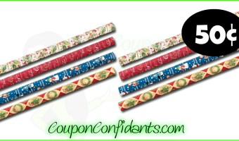 Wrapping Paper only $0.50 at Publix! WOW!