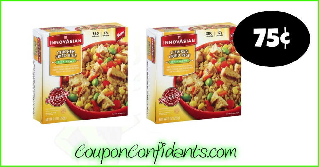 75¢ each for Innovasian Single Serves at Publix!