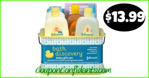 Johnson & Johnson's Bath Set at Walmart!