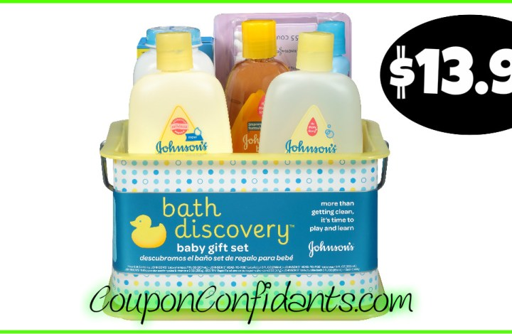 Johnson & Johnson's Bath Set at Walmart!