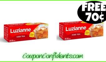 Luzianne Tea FREE for Winn Dixie and 70¢ for Bi-lo!