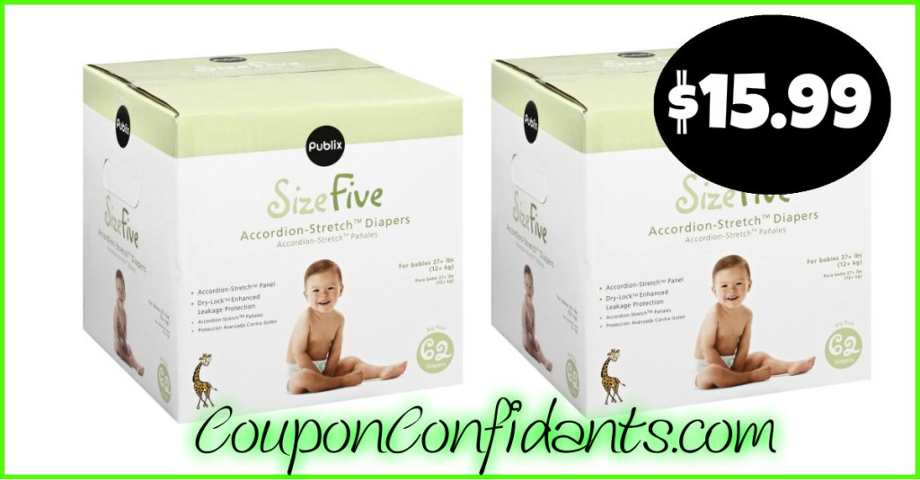 Easy Diaper Deal at Publix! No Coupons needed!