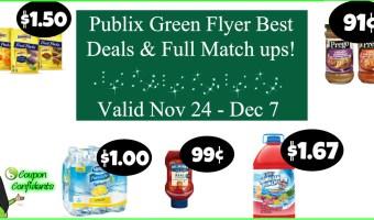 Publix Green Flyer Nov 24 – Dec 7