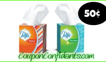 Puffs as low as $0.50 at Publix!