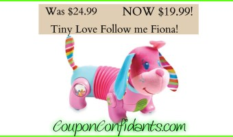 Tiny Love Follow me Fiona on sale NOW!