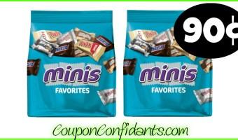 90¢ Mars Minis at Publix!! WOW!