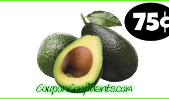 Avocados only 75¢ at Winn Dixie and Bilo!