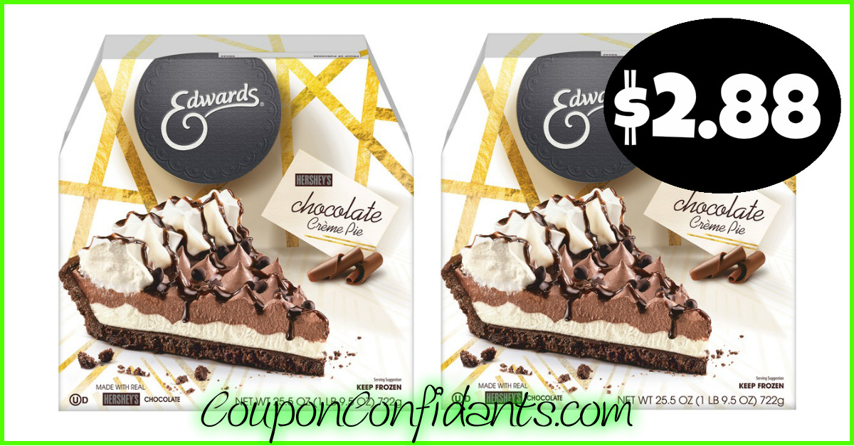 graphic about Edwards Pies Printable Coupons known as Edwards Pies $2.88 at Publix! ⋆ Coupon Confidants