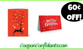 60% Sale on Holiday Cards at Vista Print!