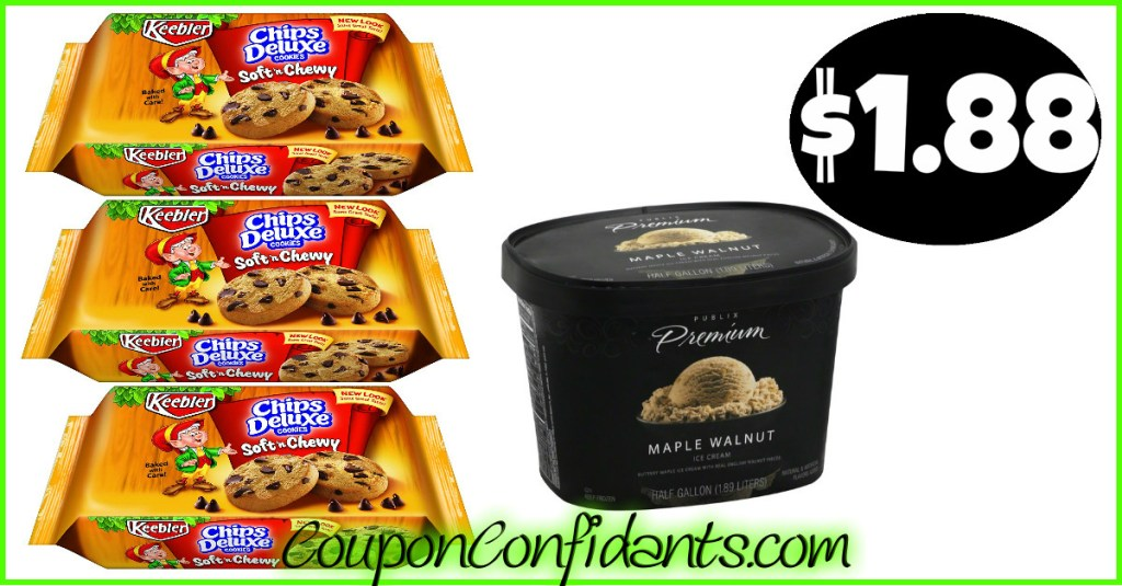 Ice Cream and Cookies Deal at Publix! YUMM!!!!