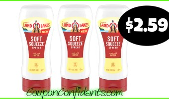 Land O Lakes Squeeze Spread only $2.59 at Publix!