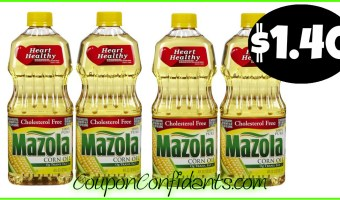 Mazola Oils only $1.40 at Publix! YES!!
