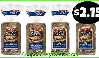 Pepperidge Farm Whole Grain Bread only $2.15 at Publix!